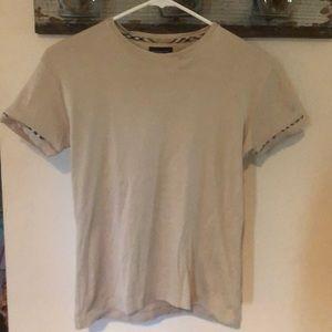 Burberry golf cotton tee shirt